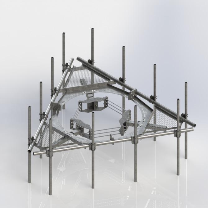 Kenwood Telecom Monopole Platforms Rotatableplatform