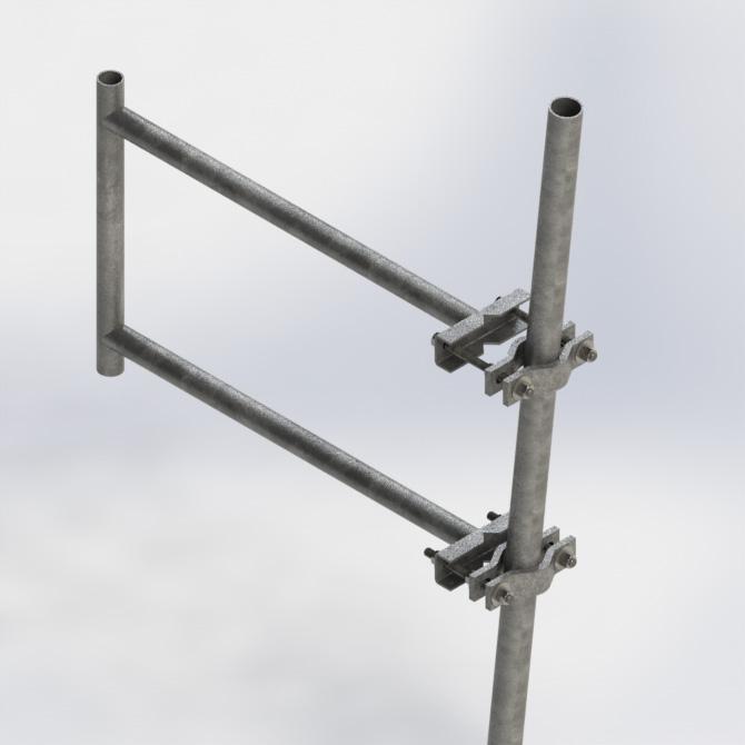 Kenwood Telecom Standoff Brackets Stdstandoffbrackets